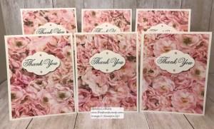 One Sheet Wonder with the Petal Promenade Paper