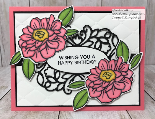 The New Band Together stamp set and coordinating Detailed Bands Dies from Stampin' Up! These intricate bands give your sentiments a beautiful border. Details on my blog here: https://wp.me/p59VWq-acR #stampinup #thestampcamp #bandtogether #stamp #craft #papercraft