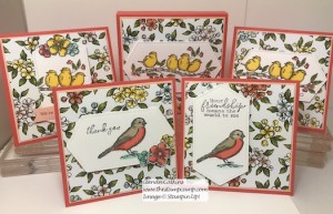 Free As a Bird Featured Stamp Set for July