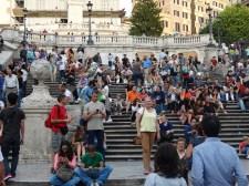 the Spanish Stairs
