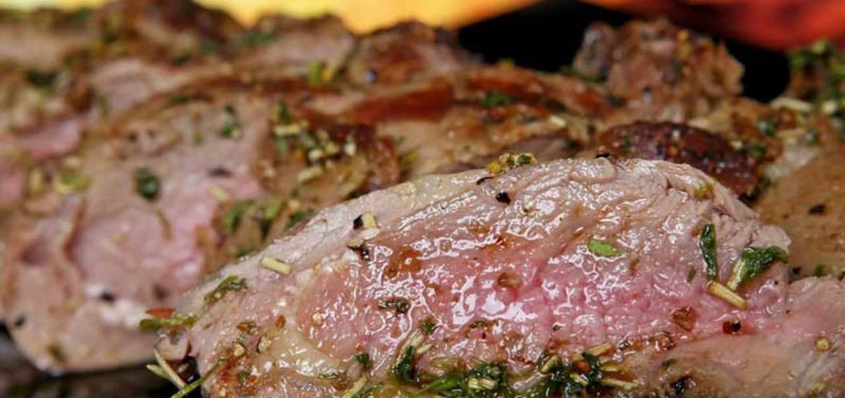 Pork: Gleneden Ridge Farm produce.