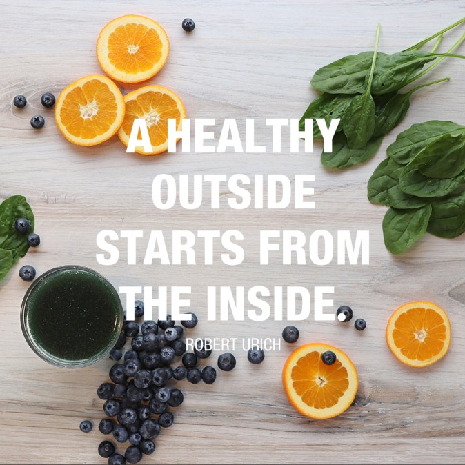 A Healthy Outside Quote - Robert Urich social_image