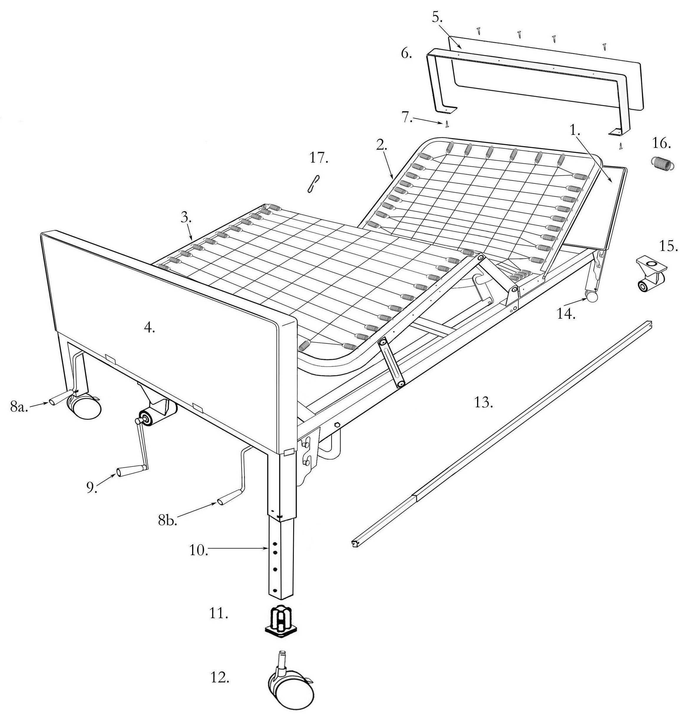 Multi Height Manual Bed
