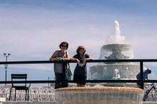 The fountain, Belle Isle