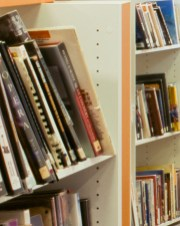 Stuart Brown Photographic - Interiors - Bookcase Detail Adult Library Southwater One, Telford