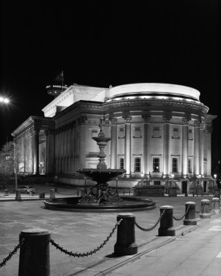 St Georges Hall Liverpool at Night
