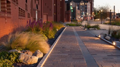 Intimate Architecture - Low Level Pavement Lighting
