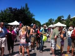 Niagara on the Lake peach festival.