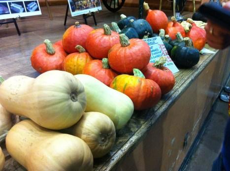 Pumpkins at the markets