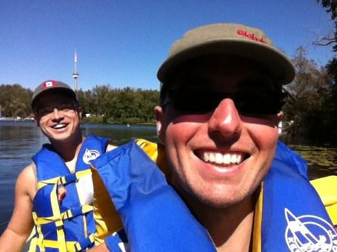 14 Sep 2013. Kayaking on Toronto Island.