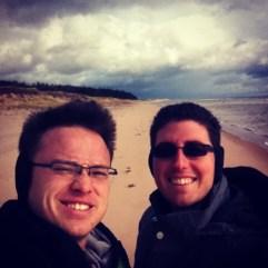 28 Oct 2013. Singing Sands Beach PEI.
