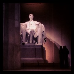 Lincoln Memorial. 13 Dec 2013.