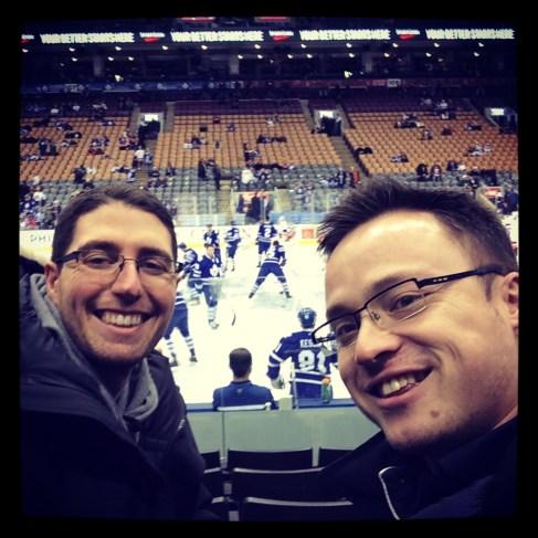 Day 207 Toronto Maple Leafs vs. New York Islanders.