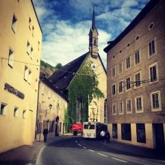 Salzburg Old Town.
