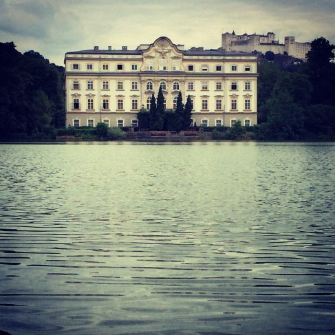 The house on the lake for the outside scenes in, The Sound of Music.