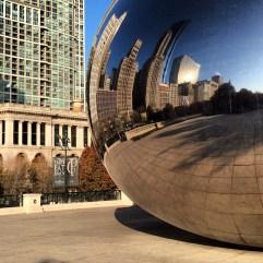 Cloud Gate Chicago.