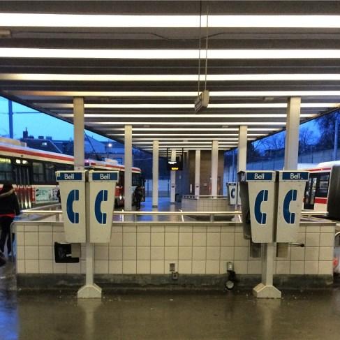 Day 558 Bathurst Subway Station