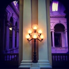 Lights, Osgoode Hall. Toronto.
