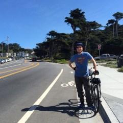 Cycling San Francisco.
