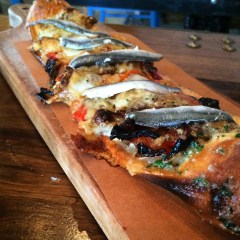 Anchovies and capsicum: yuck.
