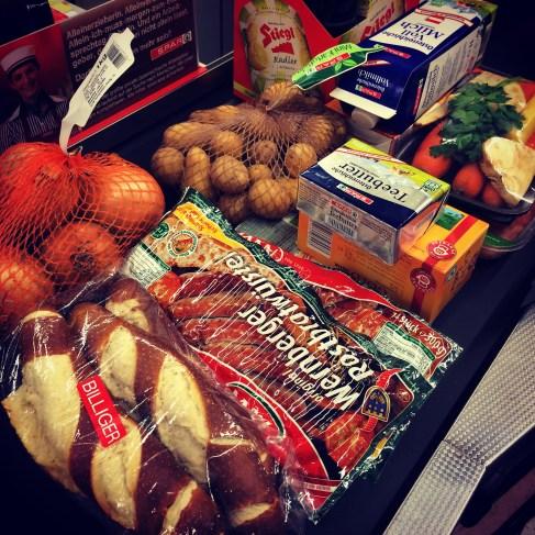 Viennese groceries.