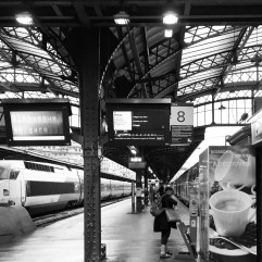 Gare de l'Est, Paris.