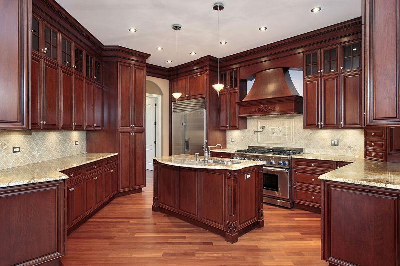 Mahogany Kitchen Cabinets Custom Cabinets Wholesale