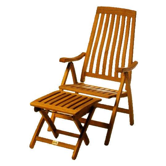 Teak Outdoor Recliner Chairs Totr105 Wholesale Teak Wooden Chairs