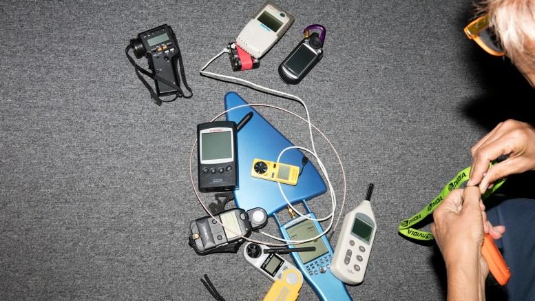 My collection of sensors circa 2007