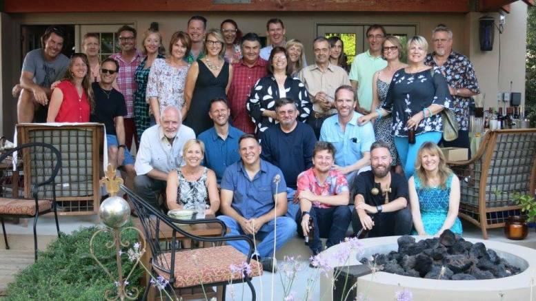 Chris & Linda Hamm Conte's Disneyland Entertainment Art Department reunion party, Pasadena, CA, Saturday 13 August 2016