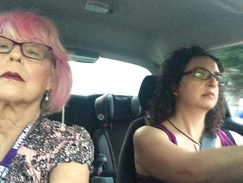 Sheree Rose & Rhiannon Aarons. Going somewhere.