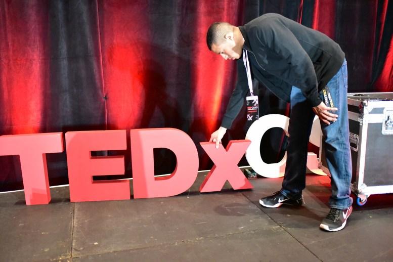 TEDxCSULB marketing director Eric Crenshaw