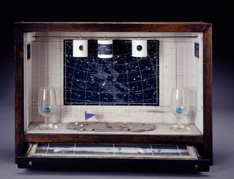 Joseph Cornell, untitled (Celestial Navigation) 1956-58