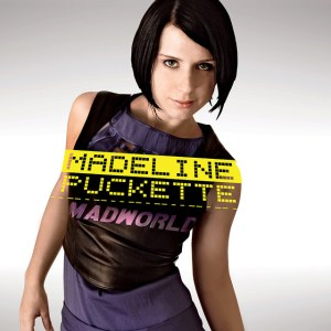 """cover of Madeline Puckette's album """"Madworld"""""""