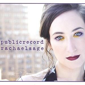 """Cover of Rachael Sage's album """"Public Record"""""""