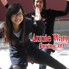 Annie Wang, Spring '09