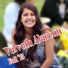 Velveth Alarcon, Fall 2013
