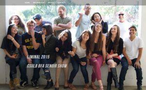 CSULB School of Art, Drawing & Painting program, 2015 BFA Students