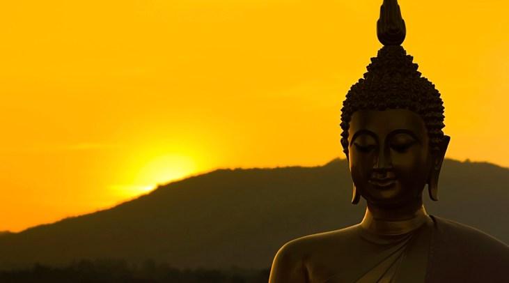 giant Buddha sculpture