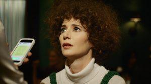 MIranda July in a scene from her short film Somebody