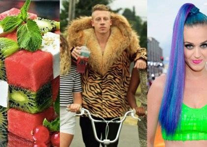 Summer Wk9: Cuisine, Couture or Coiffure!