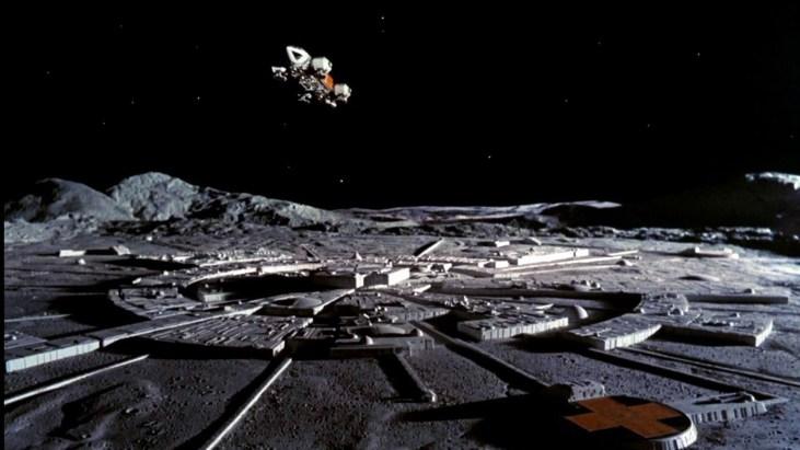 photo of a moonbase