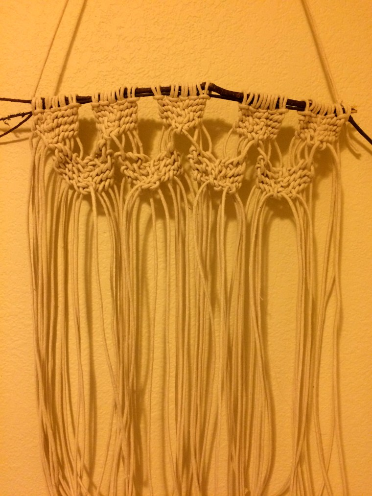 fiber art wall hanging by Deanna Soward