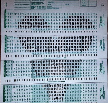 Wk 12 – Scantrons & Twines, oh my!