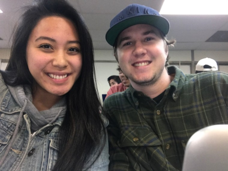 Sydnie & Trevor in FA4-311 at CSULB