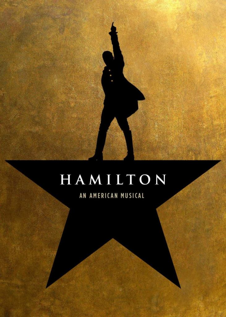 poster from the Broadway musical Hamilton