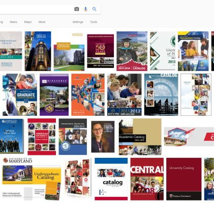 Burn the University Catalog