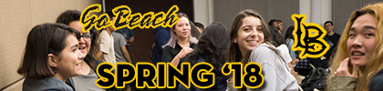 Banner for content for Spring Semester 2018 at California State University, Long Beach