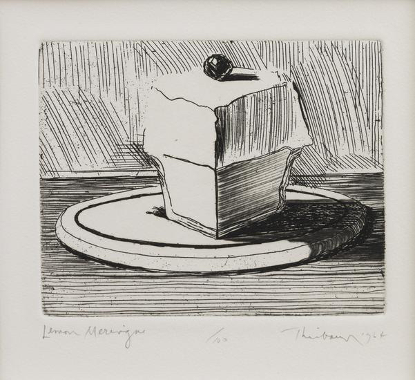 Wayne Thiebaud, Lemon Meringue, 1964