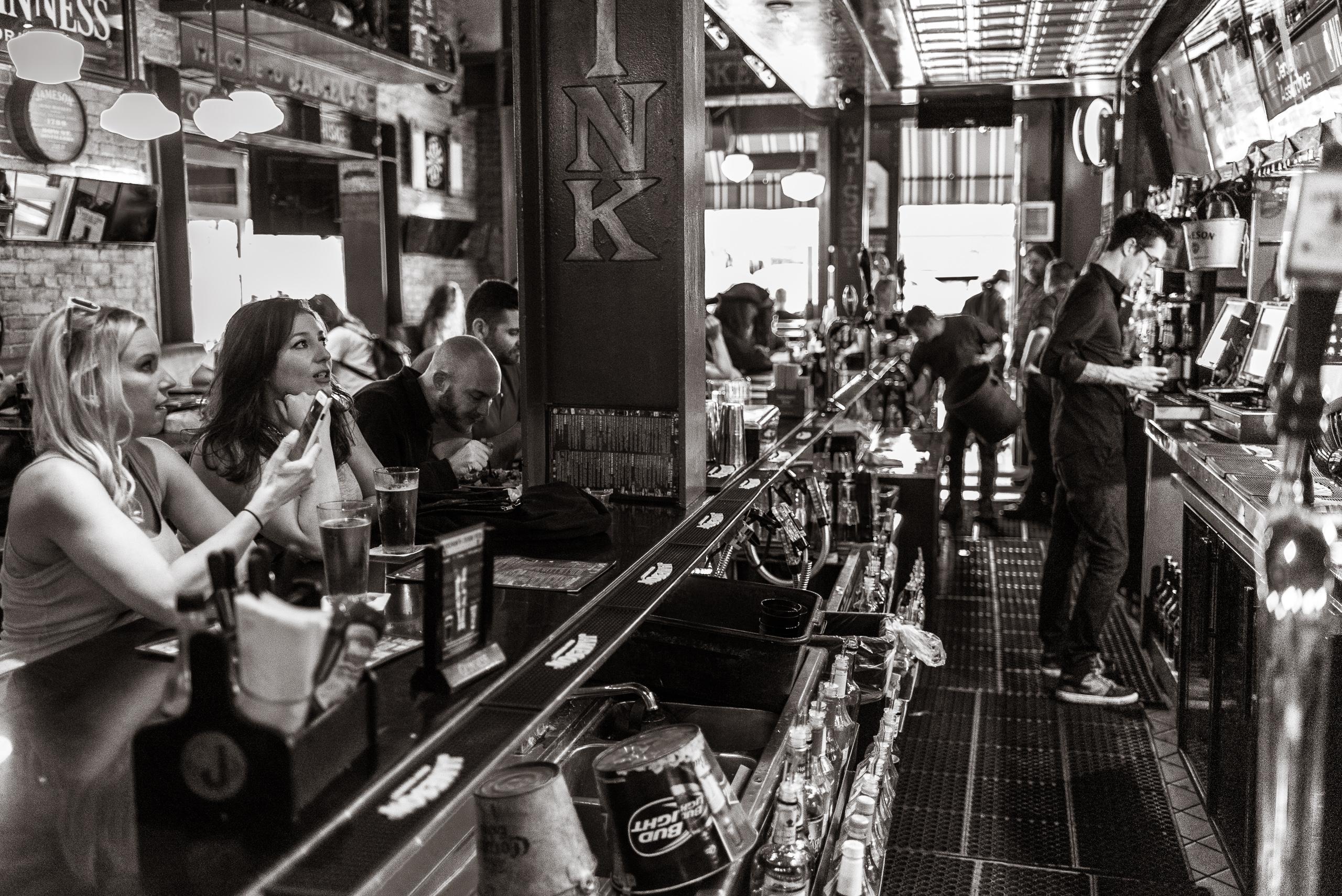 Jameson's Irish Pub & Sports Grill, 6:17pm